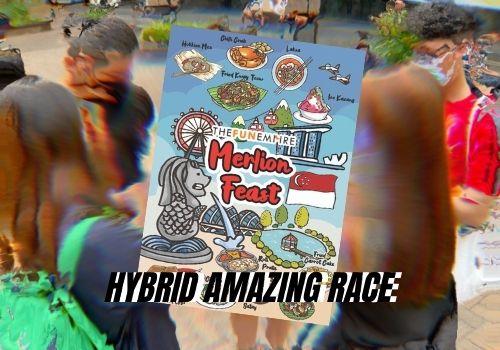 Hybrid Amazing Race - Escape Room Games Online